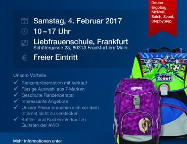Flyer Ranzentag 2017 in Frankfurt am Main